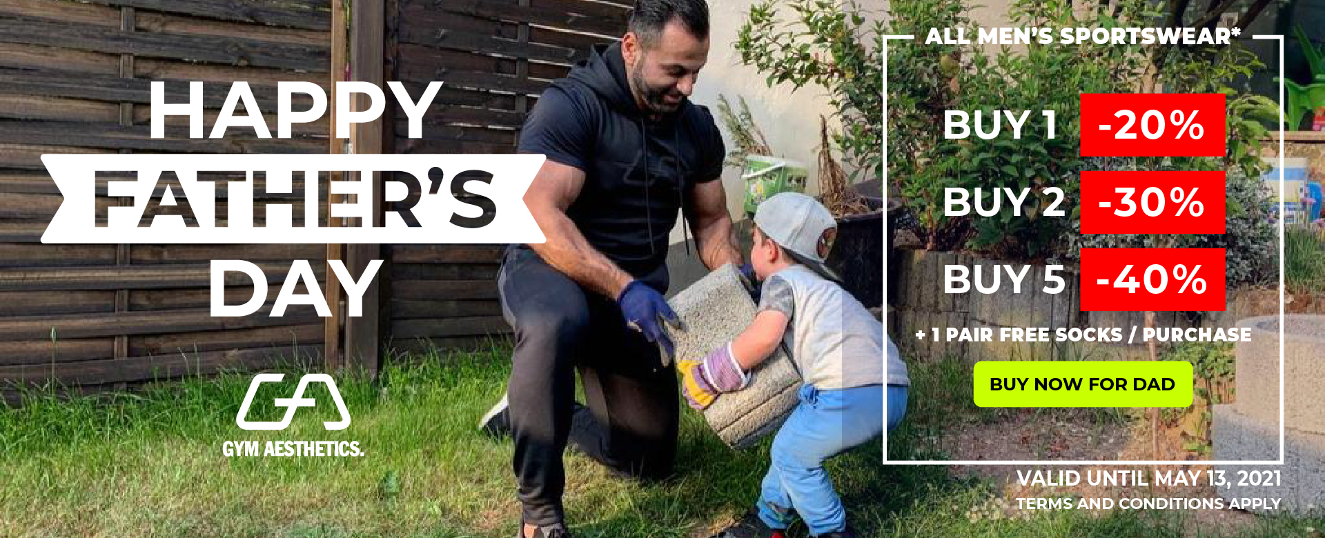 Happy Father's Day   Gym Aesthetics