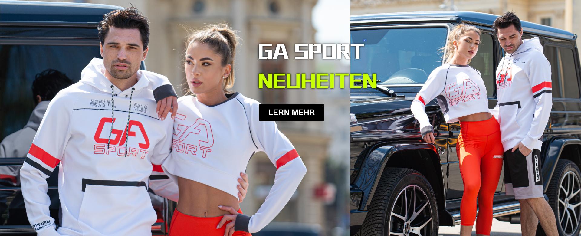 GA Sport - Neuheiten | Gym Aesthetics