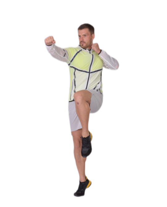 Translucent Packable Jacket for men | Gym Aesthetics