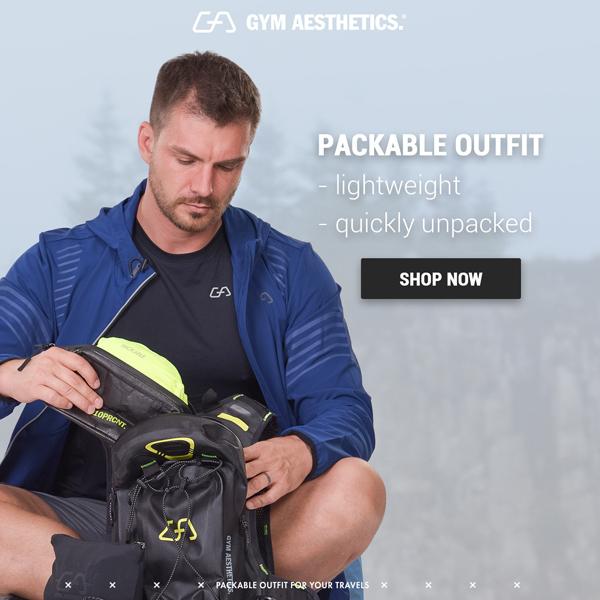 Travel Packing Tip 1 - pack light | Gym Aesthetics