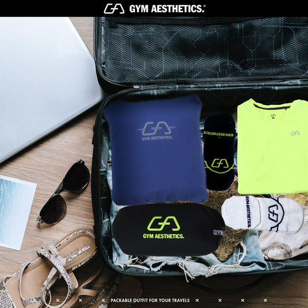 Travel Packing Tip 3 - take comfortable socks | Gym Aesthetics