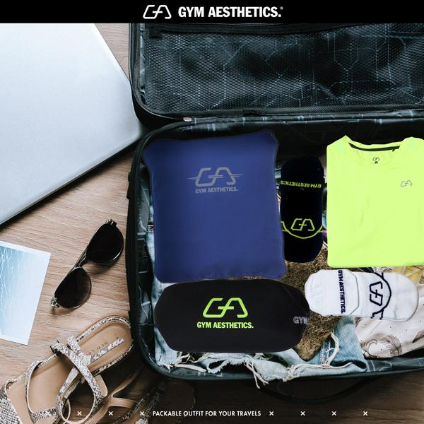 Travel Packing Tip 3 - take comfortable socks | Gym Aesthetics