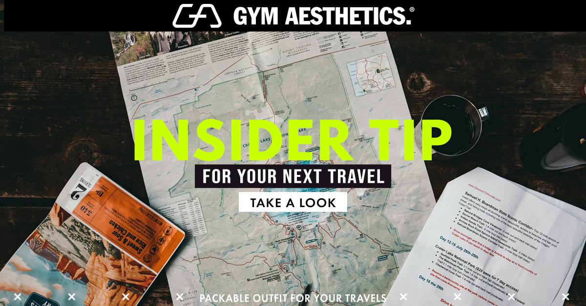 5 Travel Packing Tips with Packable Outfit | Gym Aesthetics